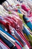 Vêtements 03 d'enfants Photos libres de droits