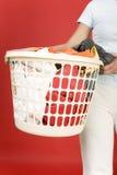vêtements au lavage Images libres de droits