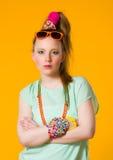 Vêtements colorés Photos libres de droits