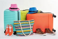 Vêtements d'été pour la récréation de plage Photographie stock libre de droits