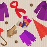 Vêtements d'automne Image libre de droits