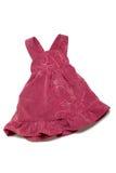 Vêtements d'enfants : robe Photographie stock