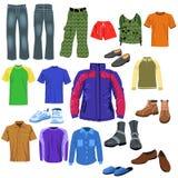 Vêtements d'hommes Photos libres de droits