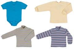 Vêtements de bébé Photos stock