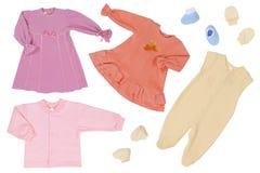 Vêtements de bébé Photographie stock libre de droits