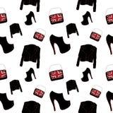 Vêtements de femmes sans couture Images stock