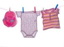 Vêtements de fille Photographie stock libre de droits