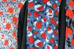 Vêtements de fleur Images libres de droits