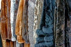 Vêtements 2 de fourrure Photographie stock libre de droits