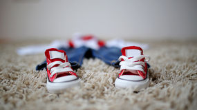 Vêtements de garçons Image stock