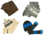 Vêtements de l'hiver de femme Photo libre de droits