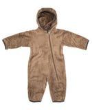 Vêtements de laine de bébé Photographie stock