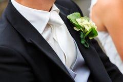 Vêtements de marié Images stock