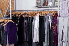 Vêtements de mode à vendre Photographie stock