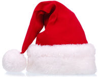 Vêtements de Noël - chapeau de Santa Photos stock