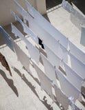 vêtements de séchage à Jérusalem Photos libres de droits