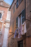 Vêtements de séchage Image stock