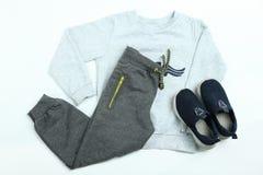 Vêtements de sport pour le garçon Photo stock