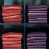 Vêtements de tissu de laine Photographie stock libre de droits