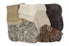 Vêtements de tricotage photos stock