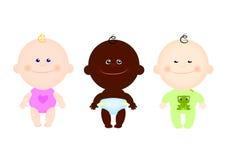 Vêtements mignons d'enfants d'enfants Photo libre de droits