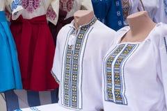 Vêtements nationaux ethniques de broderie Image libre de droits