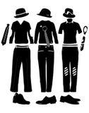 Vêtements pour l'homme Photographie stock libre de droits