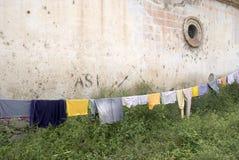 Vêtements s'arrêtants Photo stock