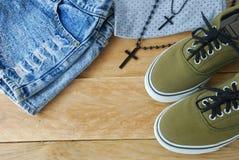 Vêtements simples Images stock