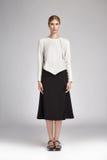 Vêtements sport de catalogue de style de mode de charme pour la femme d'affaires images libres de droits