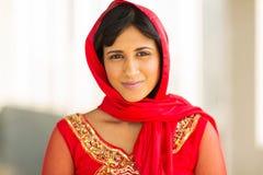 Vêtements traditionnels de femme Image libre de droits