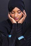 Vêtements traditionnels de femme arabe photographie stock libre de droits
