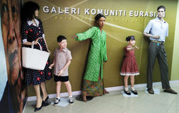 Vêtements traditionnels en Malaisie photographie stock