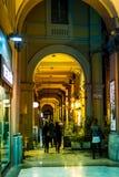 Vía el dell Orso, Bolonia, Italia Imagenes de archivo