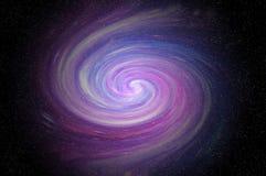 Vía láctea del espacio fotografía de archivo
