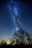 Vía láctea (Torrance Barrens Dark-Sky) Imagenes de archivo