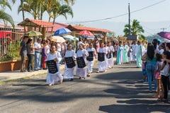 Vía la celebración de Crucis Imagen de archivo