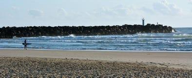 Vía marítima de Gold Coast - Queensland Australia Foto de archivo