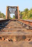 Vías de ferrocarriles Imagenes de archivo