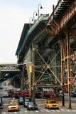 Vías elevadas del tren Imagen de archivo