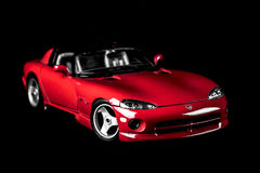 Víbora SRT10 de Dodge Imagens de Stock Royalty Free