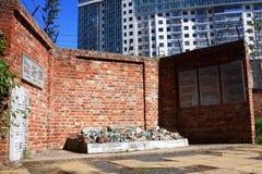 Víctimas conmemorativas del niño del holocausto imágenes de archivo libres de regalías