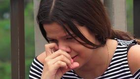 Víctimas del abuso o griterío adolescente de las muchachas Fotografía de archivo libre de regalías