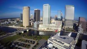 Vídeo aéreo del vídeo del uhd de Tampa 4k almacen de metraje de vídeo