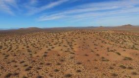 Vídeo aéreo do deserto de New mexico vídeos de arquivo