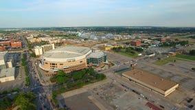 Vídeo aéreo do Oklahoma City vídeos de arquivo