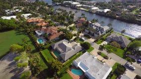 Vídeo aéreo do uhd 3 de Boca Raton Florida 4k