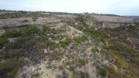 Vídeo aéreo do zangão de Rio Grande vídeos de arquivo