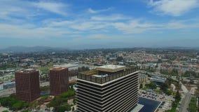 Vídeo aéreo Los Ángeles céntrico almacen de video