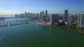 Vídeo aéreo Miami céntrica almacen de video